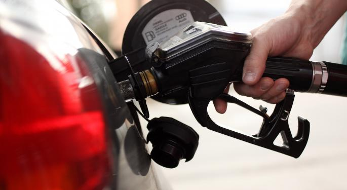 Holiday Gasoline Prices Lowest Since 2008