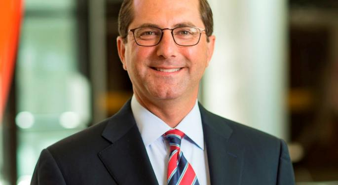 Who Is The Former Pharma Exec Trump Nominated To Lead HHS?