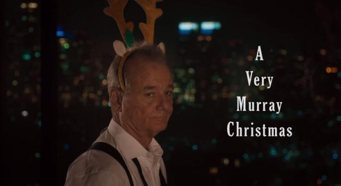 Murray Christmas! Bill Murray Is Coming To Netflix