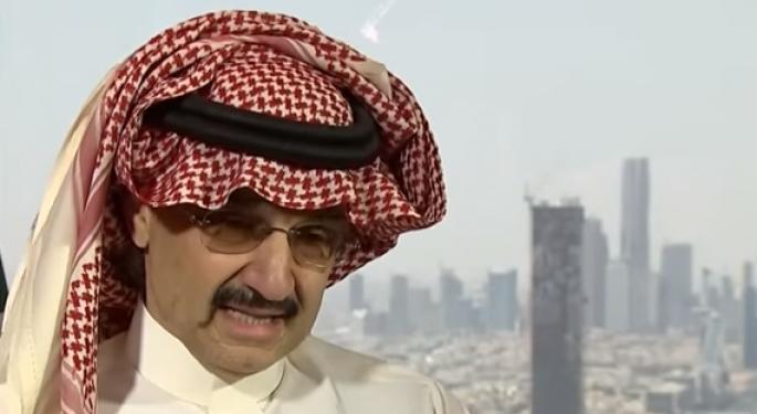 5 Stocks To Watch Amid The Arrest Of Saudi Investor Prince Alwaleed bin Talal