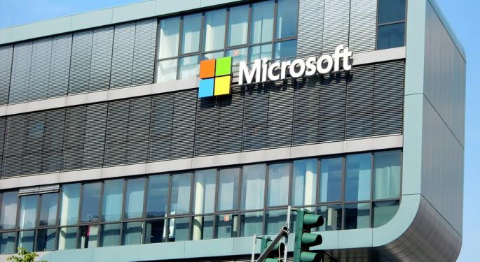 Microsoft Reports Earnings After The Bell Amid A Global Reorganization