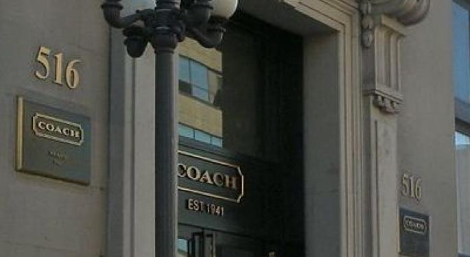 Coach Earnings Preview: Double-Digit Revenue Growth Expected