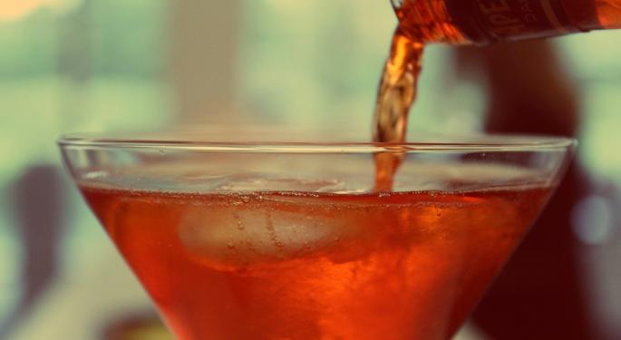 Happy Hours For Liquor Stocks As Newest 'Mad Men' Lift Vintage Beverages