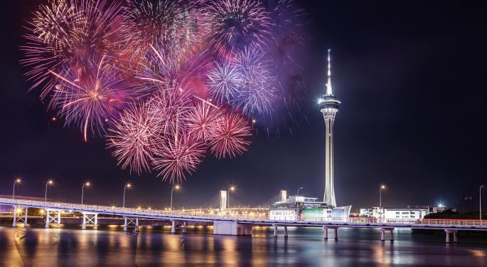 Macau Bet Pays Off Big Time For Las Vegas Sands