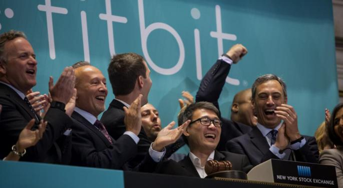 FitBit Had 'A Very Healthy Holiday'