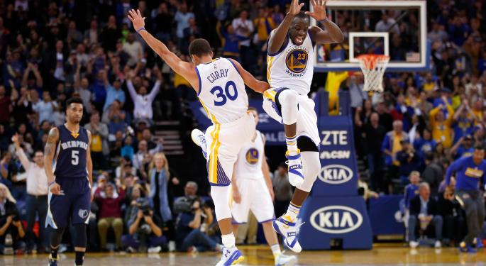 Golden State Warriors Are Dominating The NBA...And Wall Street