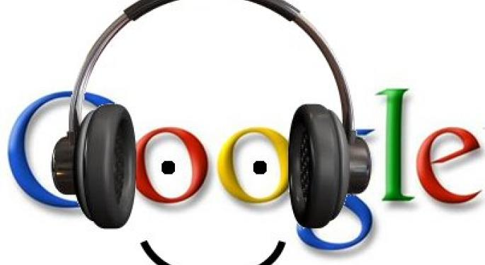 Google Streaming Music Service Rumored -WSJ