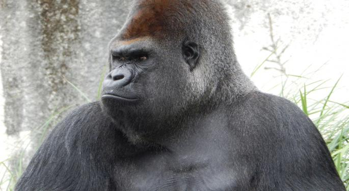 New Improved Smartphone Gorilla Glass, Now With Added Gorilla