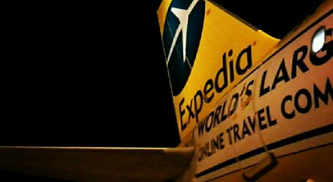Mid-Day Market Update: Expedia Surges On Upbeat Profit; Avon Shares Slip