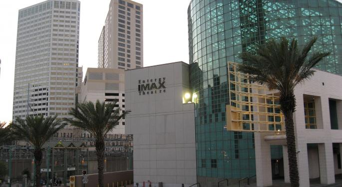 IMAX Announces New Revenue Share Agreement Plan With Chinese Partner