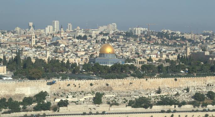 Israel Seeks To Build $5 Billion Artificial Island Off Gaza