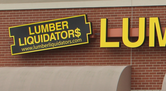 Goldman On Lumber Liquidators: 'Sentiment Is Highly Skeptical'