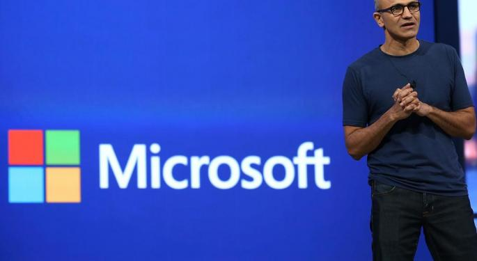 Microsoft Gets Big Upgrade At Bank Of America; Cloud Has Upside