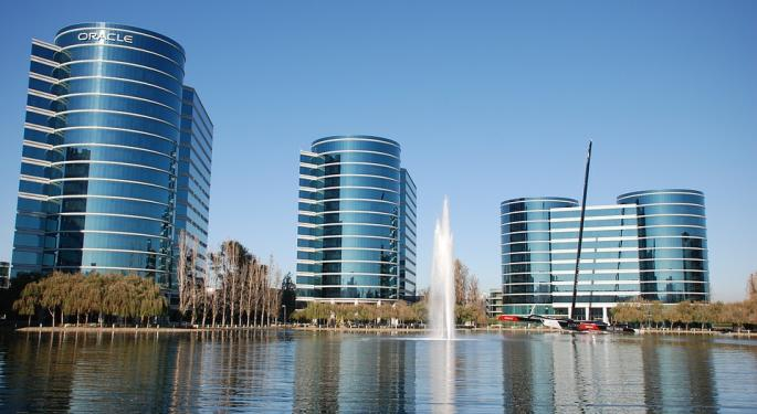Oracle Set To Report First Quarter Earnings For Fiscal 2018 On Thursday