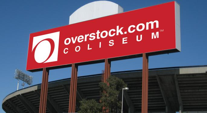 Overstock, Under Armour The Hot Stocks Among Shorts