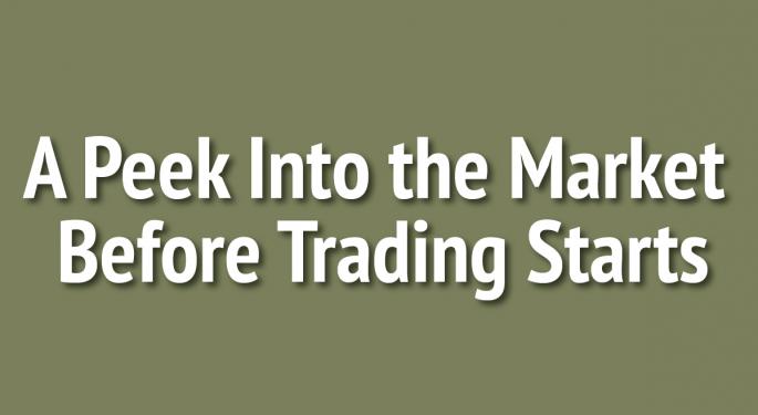 A Peek Into The Markets: U.S. Stock Futures Tumble Ahead Of Economic Reports