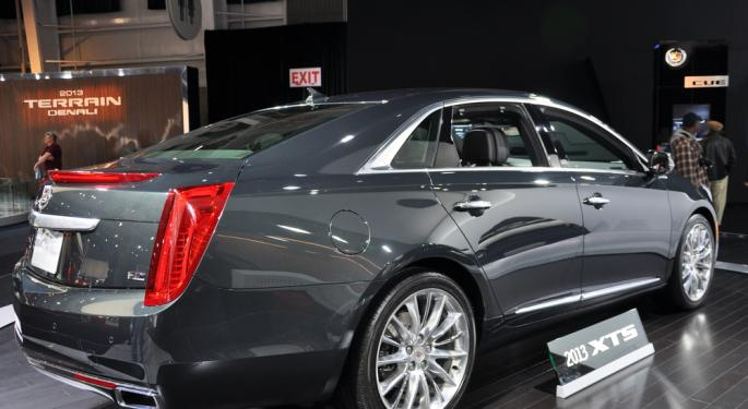 Cadillac Headed for Brazil