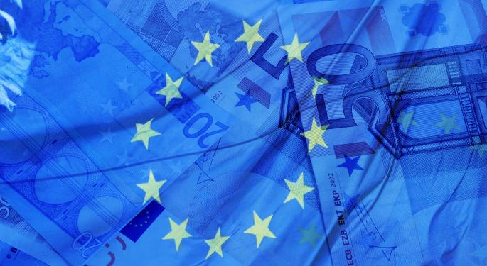 Euro Strong Ahead of Trade Data