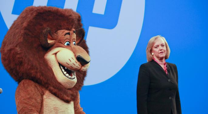 Hewlett-Packard Rises 6% After Q4 Earnings Beat