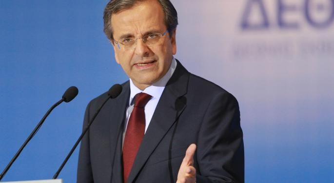 Antonis Samaras Faces Troika to Unlock Next Aid Installment