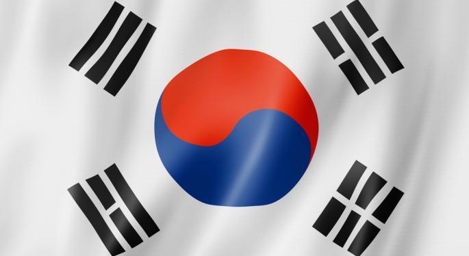 Rising Won has South Korea Worried