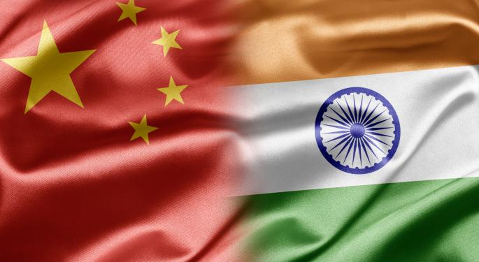 A China/India ETF That is Actually Going Up