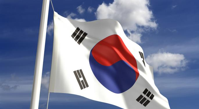How One EM ETF Performs Without South Korea