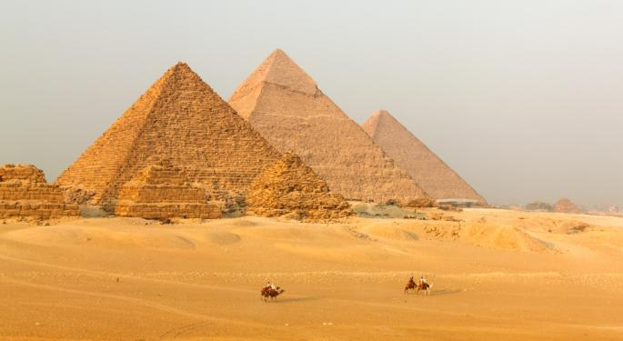 Following Morsi Power Grab, Egypt ETF Plunges