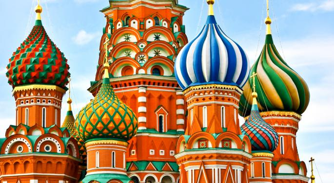 Will Russia ETF's Plunging Valuation Lure Buyers?