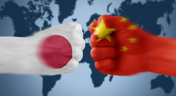China, Japan Shares Sink On Weak Economic Data