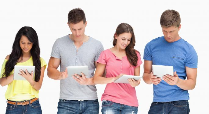 Tablets Set To Outpace PCs In Q4