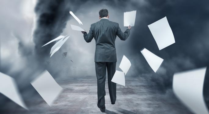 Barron's Recap: Beware Falling Profit Estimates