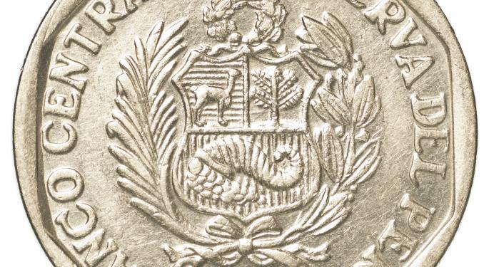 Buenaventura Weighs on Silver, Peru ETFs
