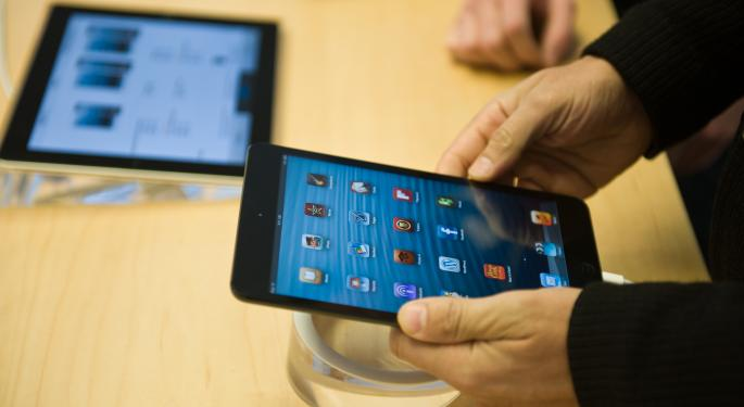 iPad Mini's Anticipated Declines Are Reinforced by New Report