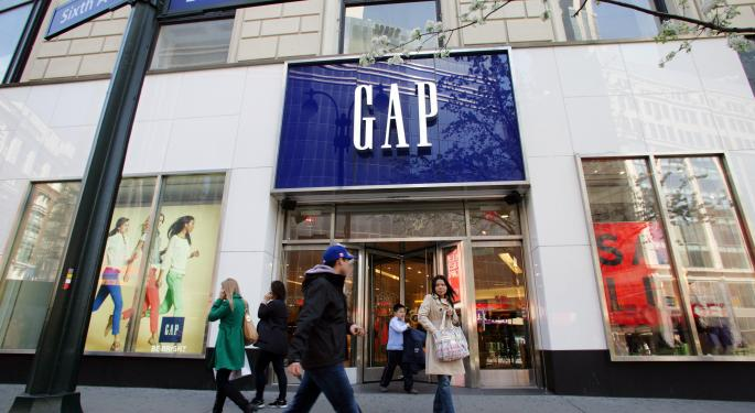 Gap's Q4 Comps Rise But Investors Are Underwhelmed