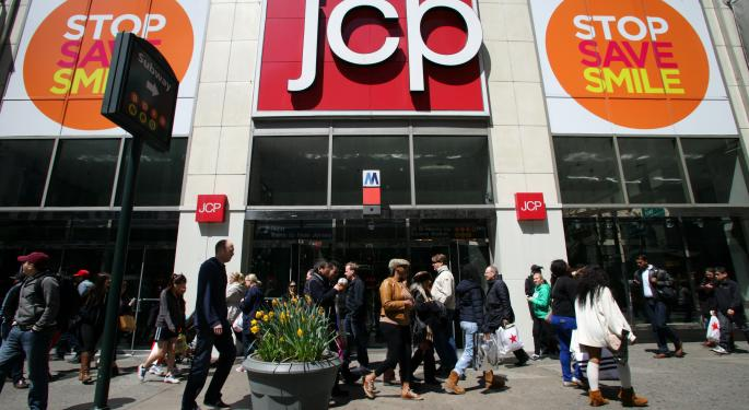 Mid-Afternoon Market Update: Markets Mixed as JC Penney Rises