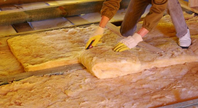 Economic Recovery Could Help Warm Up Home Insulation Business