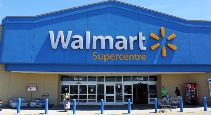 Wal-Mart Drops iPhone 5C, iPhone 5S Prices Ahead Of Launch AAPL, WMT