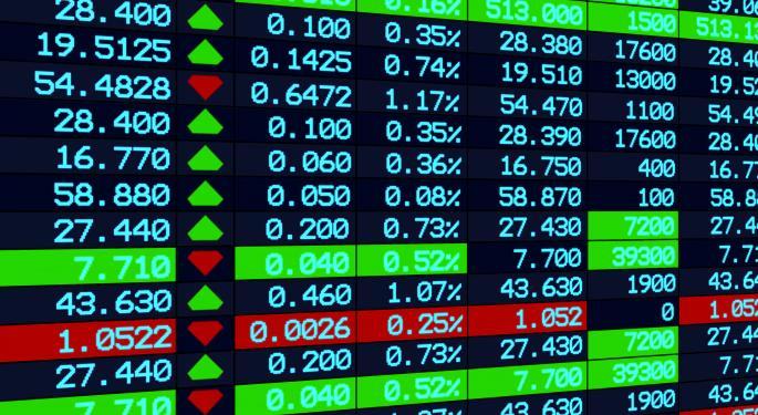 Mid-Day Market Update: U.S. Stocks Tumble; Regis Shares Decline On Downbeat Results