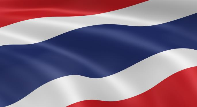 GDP Report Lifts Thai ETF to All-Time High
