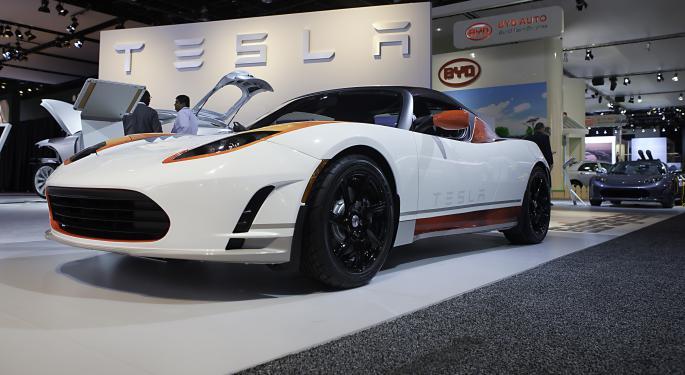 Tesla Short Interest Doesn't Change As Shares Rocket Higher