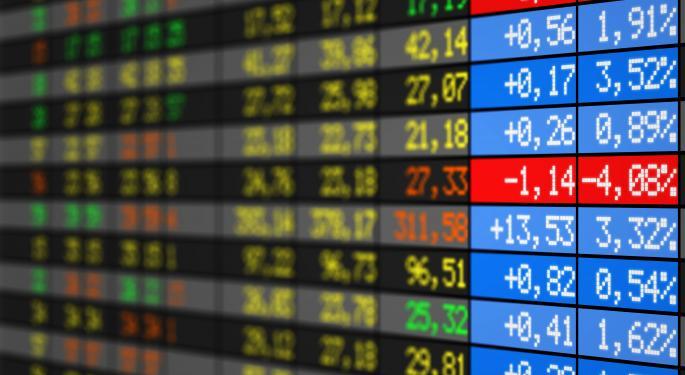 Mid-Morning Market Update: Markets Open Lower; Procter & Gamble Profit Beats Estimates