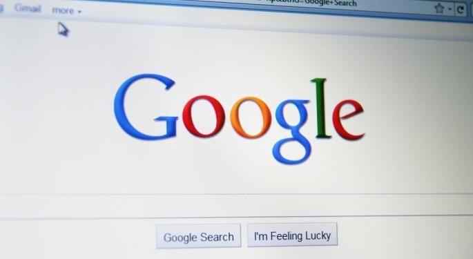 Google Up 5% After Topping Estimates GOOG