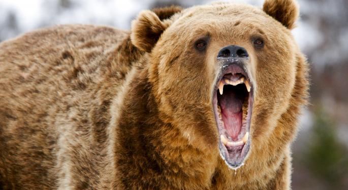 Nikkei Roars Into Bear Market Territory Overnight as Dollar Plummets Against the Yen