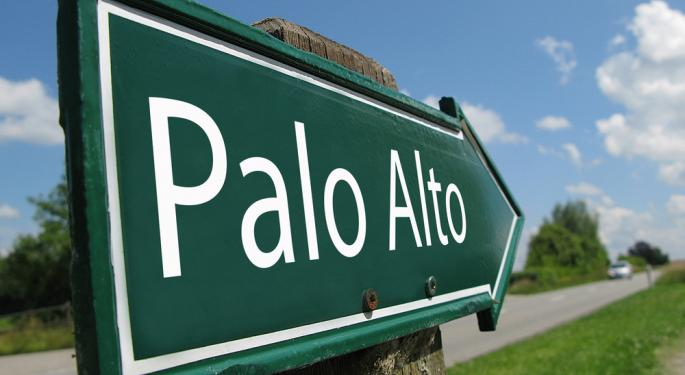 Palo Alto Networks Falls After Q1 Results