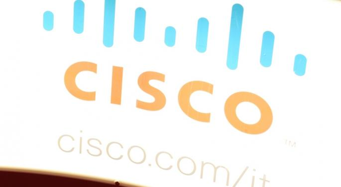 Cisco Spikes 6% After Earnings