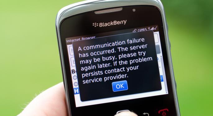 RIM Co-Founder Jim Balsillie Dumps Remaining Stock, BlackBerry Plunges