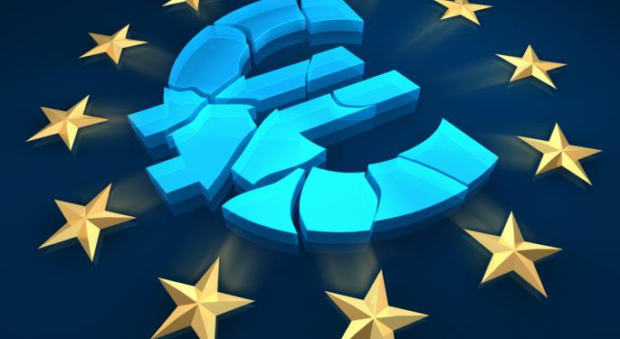 Euro Down in the Wake of Poor Economic Data