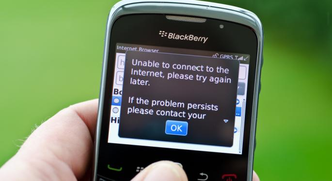 Windows Phone Attempts to Capitalize on BlackBerry Outage
