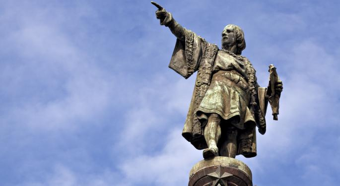 ETFs Christopher Columbus Would Favor EWI, SPY, SEA
